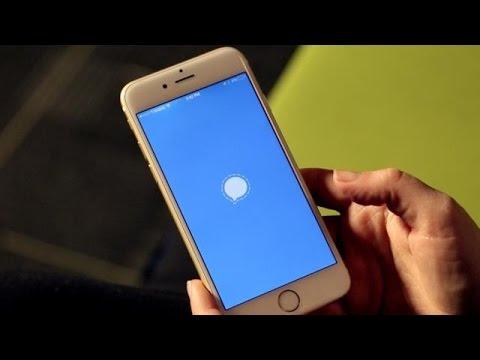 Signal Secure Messaging App