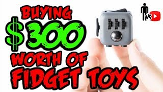 Download Buying $300 Worth of Fidget Toys - Man Vs Video