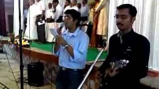 Johncy And Jify Singing Nanma Mathrame