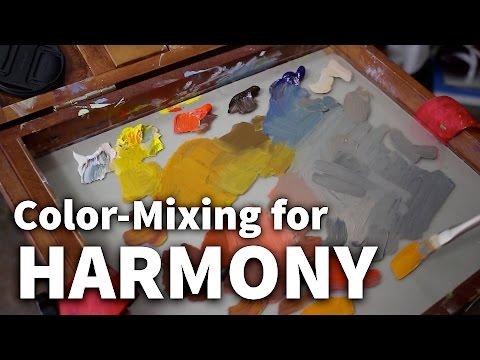 Color-Mixing for Harmony | Acrylic & Oil Painting Lesson