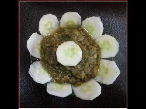 Recipe - Cucumber Chutney