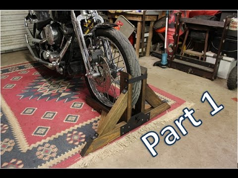 Homemade Motorcycle Stand Part 1