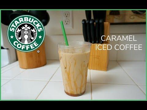 Caramel Iced Coffee Recipe!