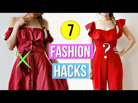 How to Look GOOD on a Budget! 7 Fashion Hacks!