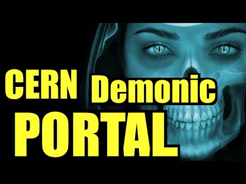 CERN Demonic Portal Alpha-2 CERN Portal Video CERN Portal Demons caught on Camera Antimatter