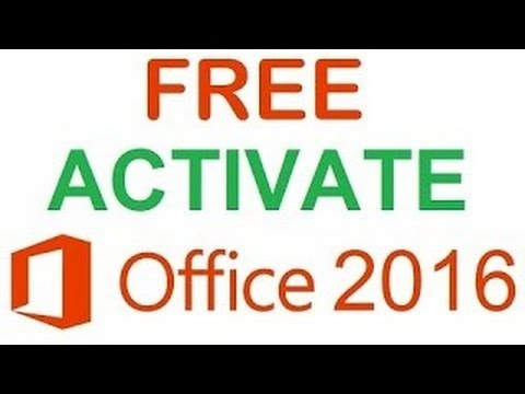 How to Hack Activate Microsoft Office 2016 without Keygen