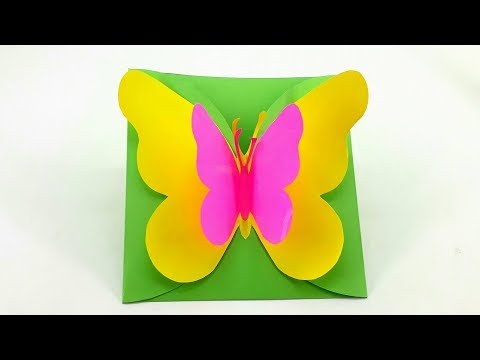 DIY: How to Make Greeting Cards - Big Butterfly Birthday Cards
