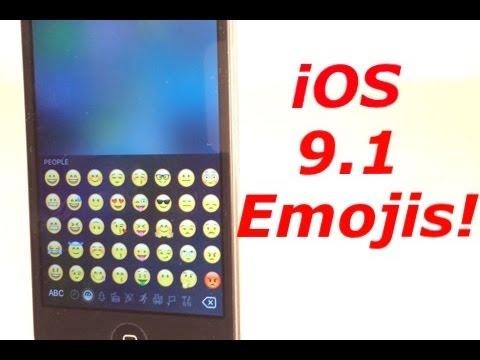 How to Install iOS 9.1 Emojis on 9.0.2 Jailbroken!