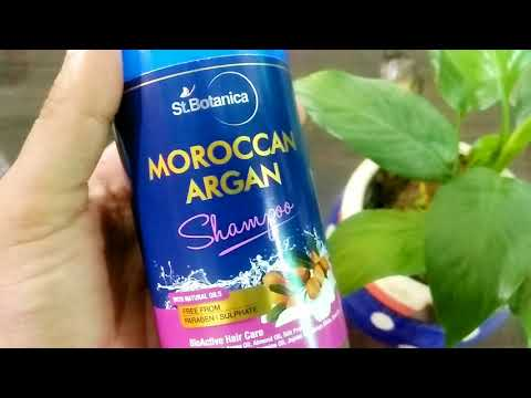 Prevent Hair Loss | StBotanica Moroccan Argan Shampoo and Conditioner For Hair Fall Treatment