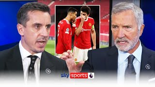 Gary Neville & Graeme Souness clash over the biggest issue at Manchester United
