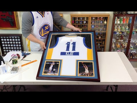How to Professionally Frame a Basketball Jersey in a Sports Display Case