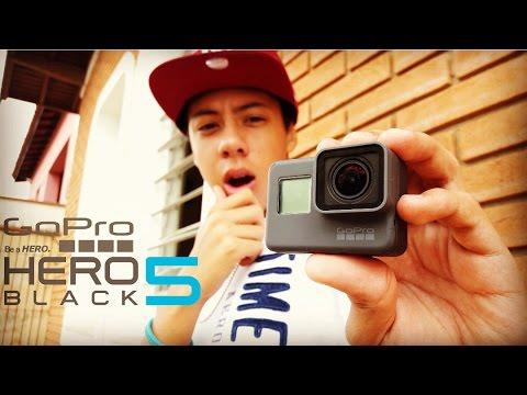 Unboxing GoPro Hero 5 Black em Português + TESTES 😮