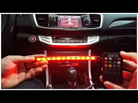 Plug and Play Multi Color footwell LED light Kit with Remote (Ziste)