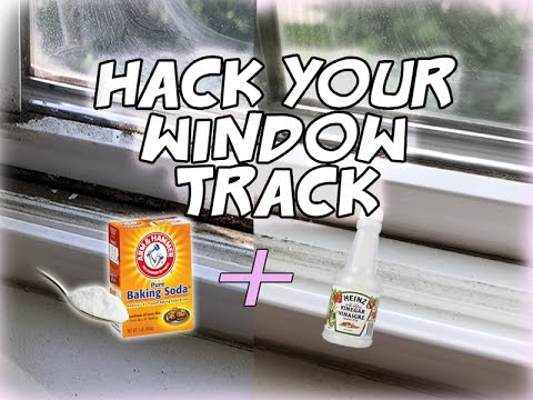 Hack Your Window Track! Easy & Quick Way To Clean