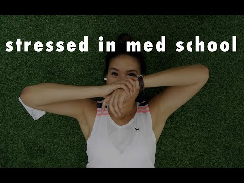 Medical School Student Vlog: Exercising and Dealing with Stress in Medical School