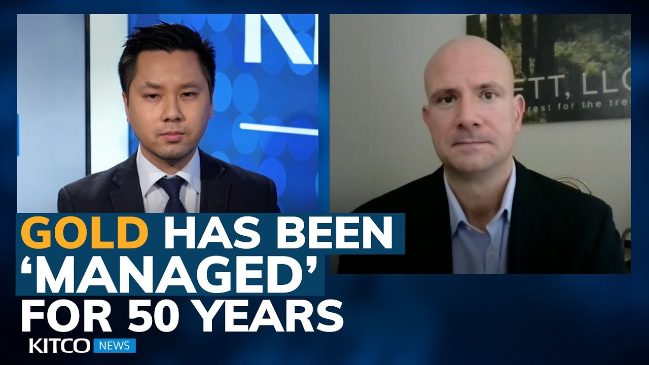 Why gold price is not at $6k already and why it was 'managed' by the government - Luke Gromen