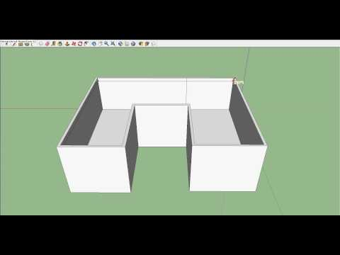 How to make a second floor on Google Sketchup (efficient way)