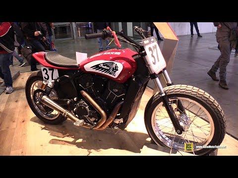 2018 Indian Scout Sixty Custom Bike - Walkaround - 2017 EICMA Motorcycle Exhibition