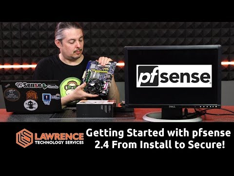 2018 Getting started with pfsense 2.4 from install to secure! including multiple separate networks