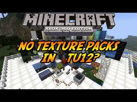 Minecraft (Xbox 360) : TU12 Update -  No texture packs in TU12
