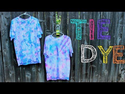 2 Ways to Tie Dye   DIY