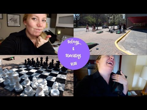 Delays & Diverted | Flight Attendant Vlog
