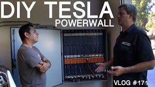 DIY TESLA Powerwall  - my  WALL vs ELON