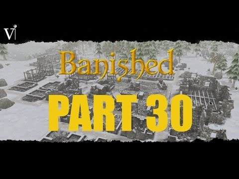 Banished Gameplay Playthrough - Part 30 - Trader, Why You Bring no Animals?