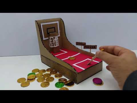How to Make Coin Game of Cardboard