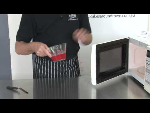 Preparing Candy Melts - melting them in the Microwave Successfully