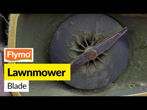 How to Replace a Flymo Lawnmower Blade