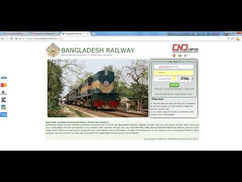 online train ticket ! How to purchase online Train Ticket!!!! Railway e-ticket