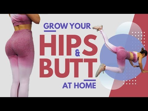 Grow Your Hips & Butt | Home Booty Workout | Side Butt | Hip Dips