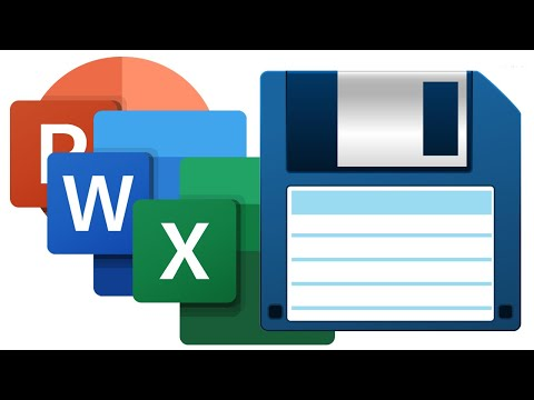 Change your Microsoft Office Default Save Options