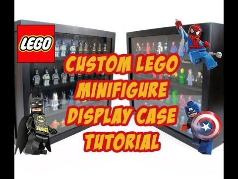 Custom Lego Minifigure Display Case Tutorial