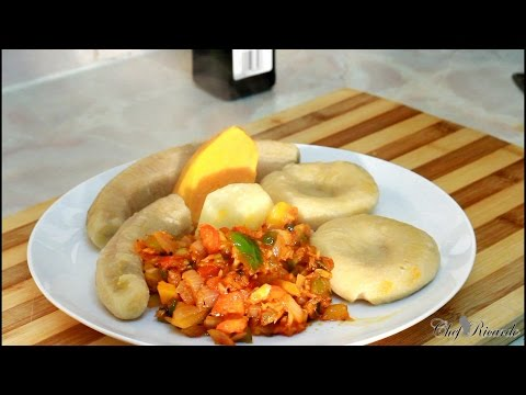 Jamaican Fry Up Salt Fish And Boiled Cornmeal Dumplings Recipes | Recipes By Chef Ricardo