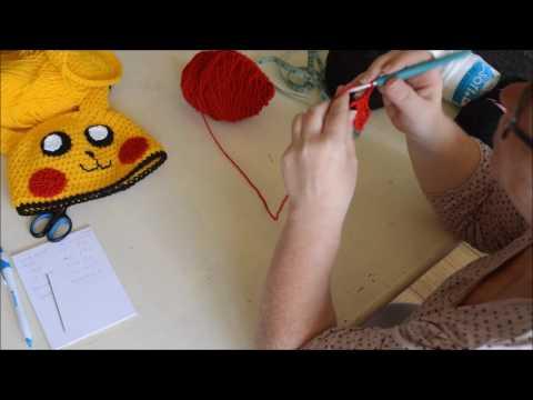 Mini granny square - Crochet - Turorial - English