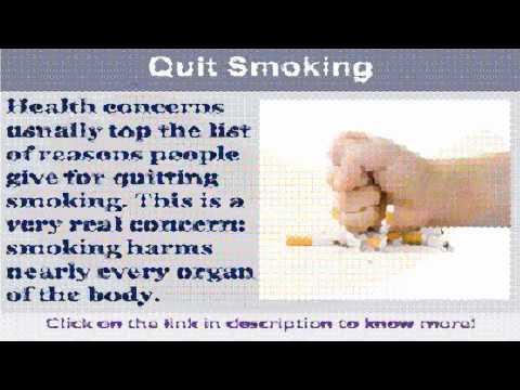 See now   quit smoking symptoms