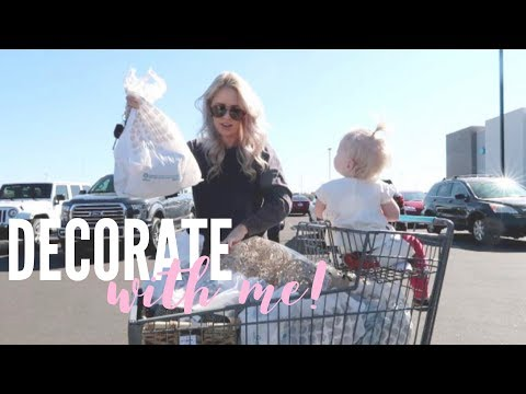 HOME DECOR HAUL / DECORATE WITH ME / Daily Vlog