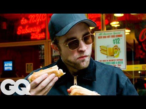 Robert Pattinson Desperately Needs a New York City Hot Dog | GQ