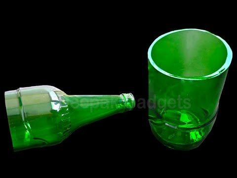 How to Cut a Glass Bottle in 3 Simple ways at home