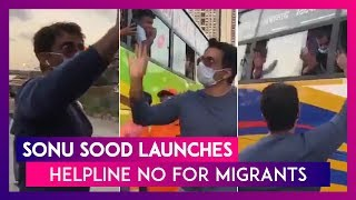 Sonu Sood Announces Helpline For Migrants, Gets Bombarded With Messages From People Seeking Help