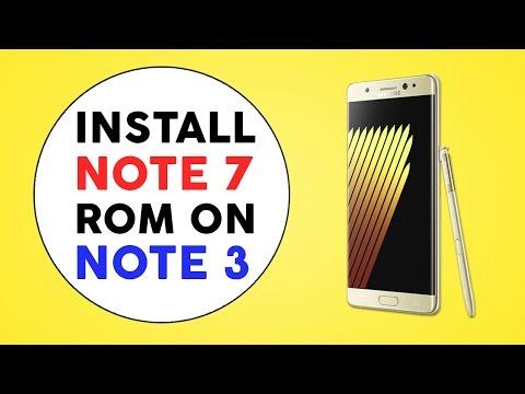 Galaxy Note 3 - Galaxy Note 7 Rom - Install/Flash - Download - AryaMod Rom 2016