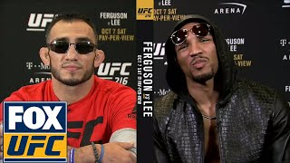 Tony Ferguson and Kevin Lee get heated ahead of UFC 216 | UFC TONIGHT