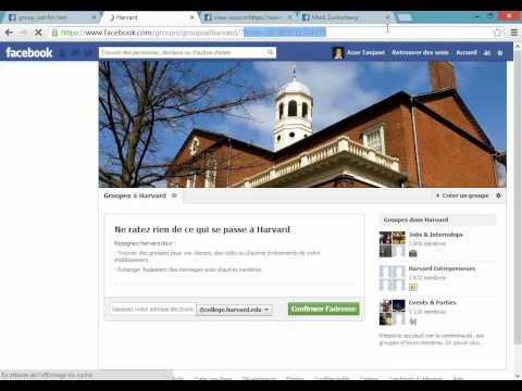 Facebook group permission de conversation