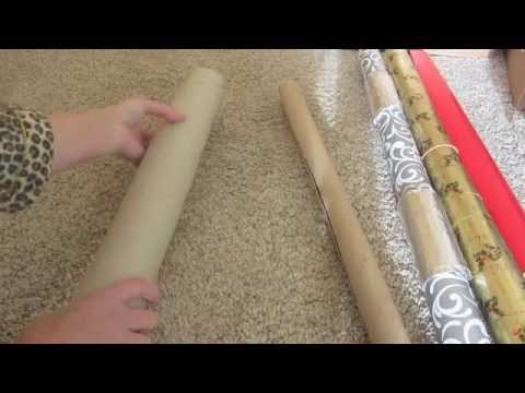 Wrapping Paper Storage Tube Roll Stays Holds Great