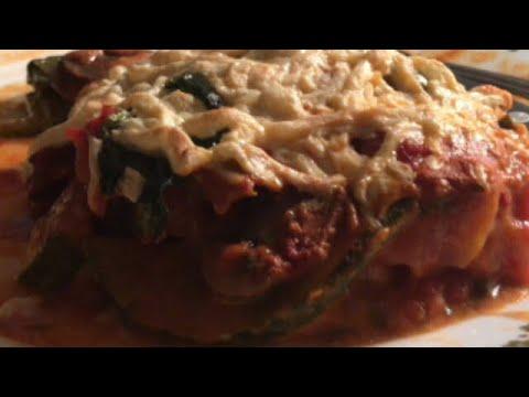 Zucchini Casserole•Mock Lasagna•Vegetarian 🇨🇦