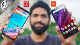 OnePlus 5T vs Mi Mix 2 - What