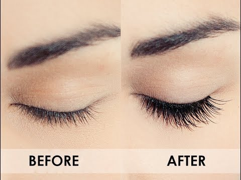 HOW TO GET LONG EYELASHES AND THICKER EYEBROWS NATURALLY