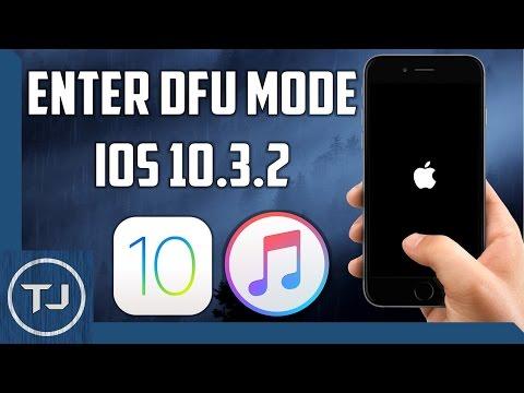 Enter DFU Mode IOS 10.3.2 iPhone/iPad/iPod 2017!